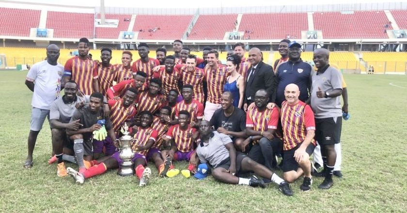 Homowo Cup: Hearts of Oak beat Great Olympics on penalties to lift Cup