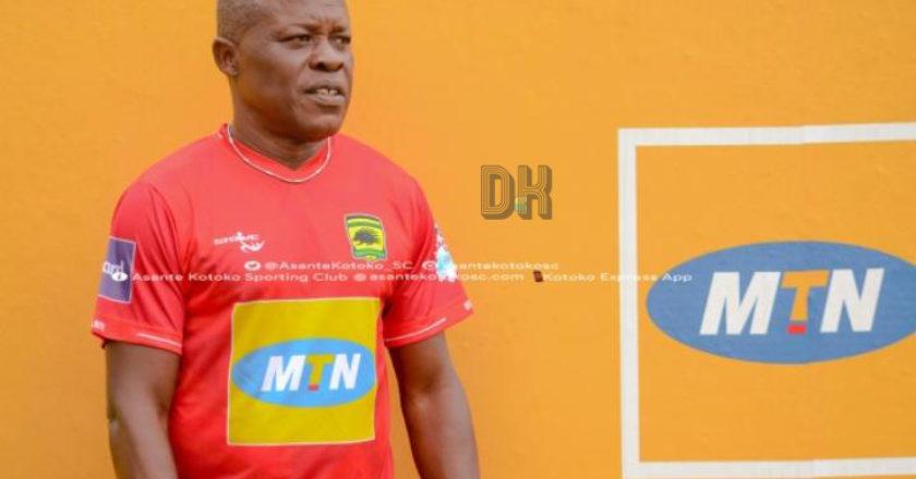 Breaking: Asante Kotoko announce Johnson Smith as new assistant coach
