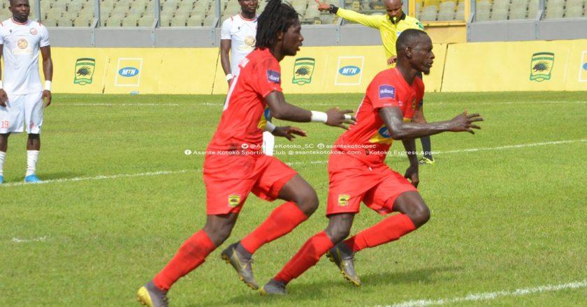 Asante Kotoko beat Hearts to lift President's Cup