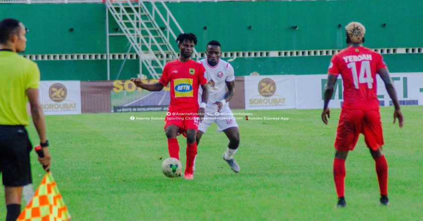 Asante Kotoko knocked out of CAF Confederation Cup by FC San Pedro