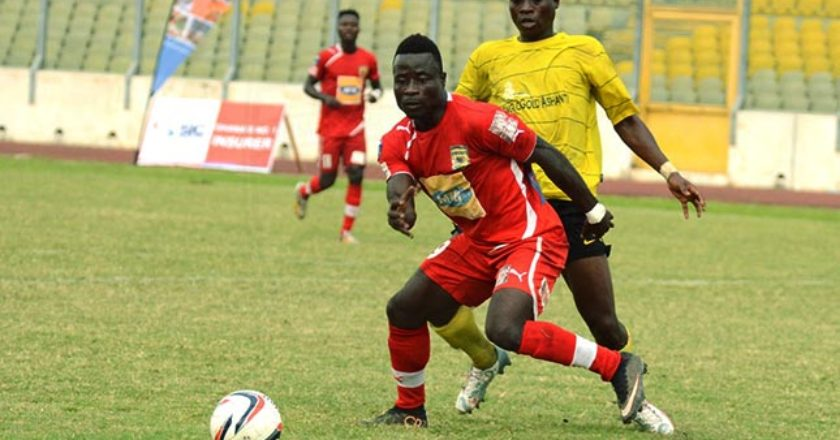 Former Kotoko forward Kwame Boateng joins Karela United