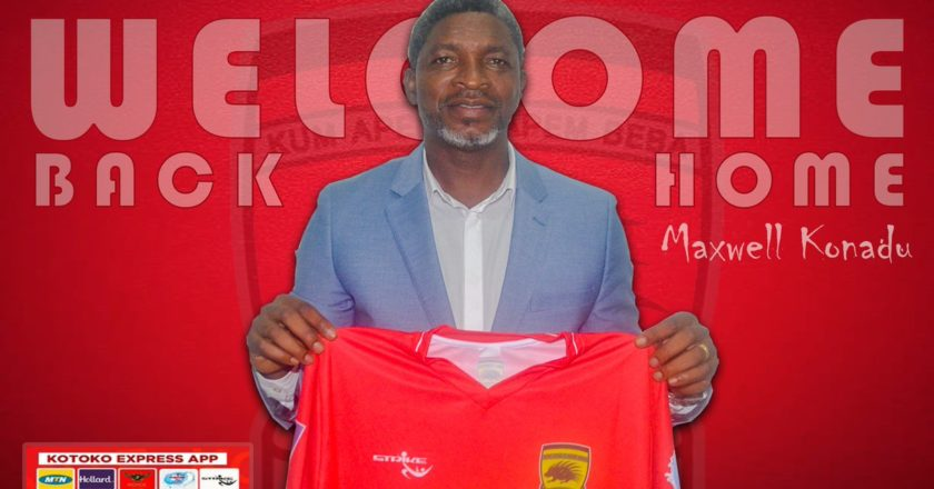 Asante Kotoko to unveil new coach Maxwell Konadu