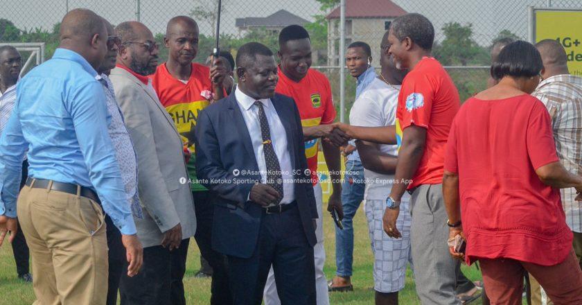 Pictures: Asante Kotoko officially unveil Maxwell Konadu