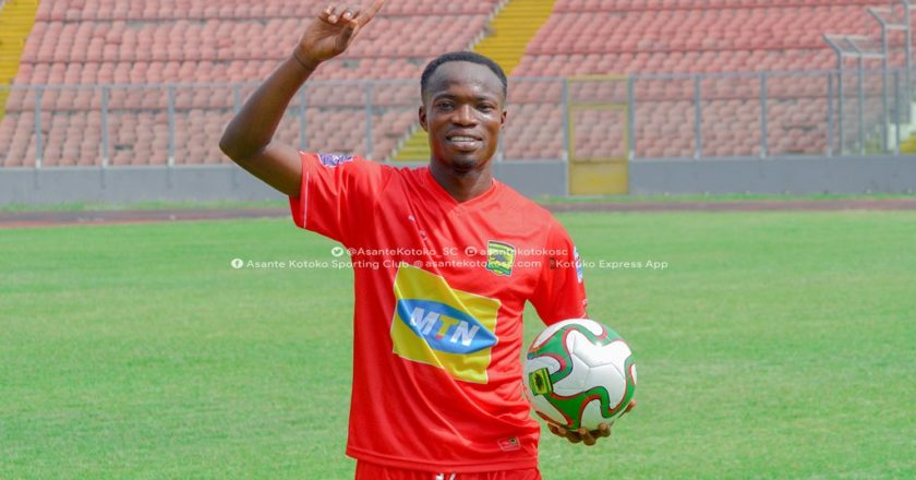 Asante Kotoko sign midfielder Kwame Adom Frimpong
