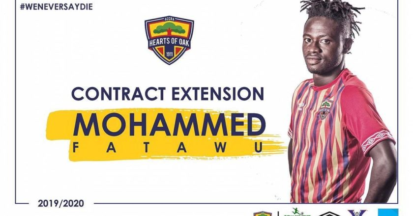 Hearts of Oak extend contracts of three players