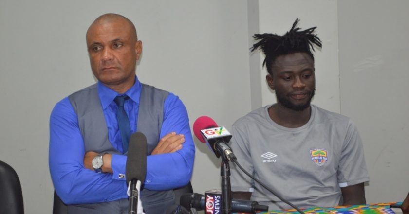 My players gave everything - Hearts of Oak coach Kim Grant