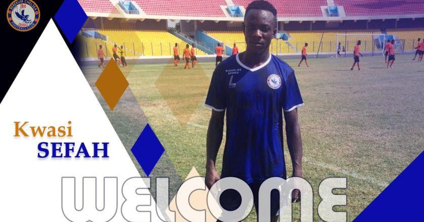 Berekum Chelsea sign Kwesi Sefah Biney on a three deal