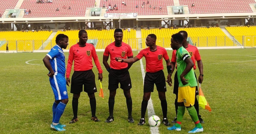 Match Officials for GPL Match week six