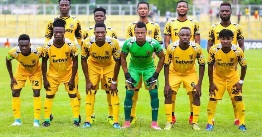 CAF Confed Cup: Match Officials for Ashgold vs Salitas announced