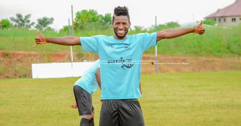 Asante Kotoko terminate contract of Ivorian midfielder