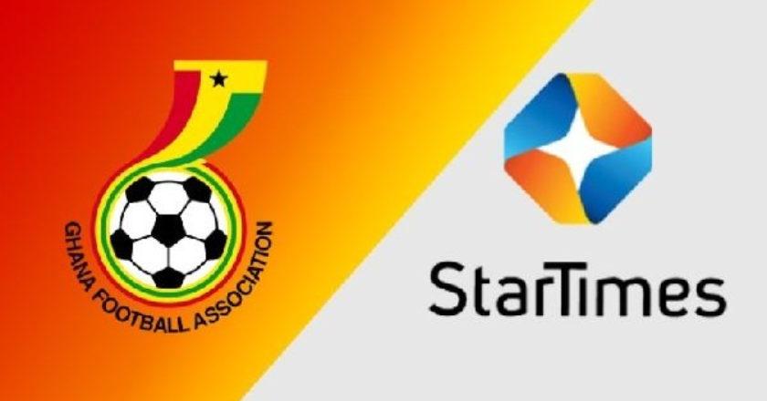 GFA announce breakdown of Star Times sponsorship fees
