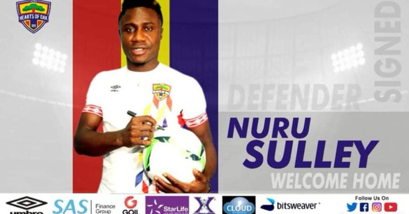 Hearts of Oak complete signing of defender Nuru Sule