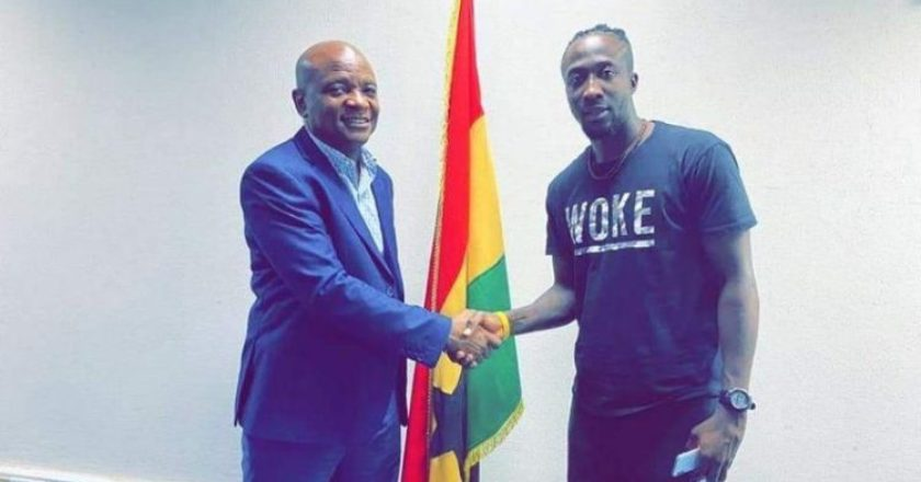 Hearts of Oak sign Nigerian striker Danjuma Ademola Kuti on two year deal