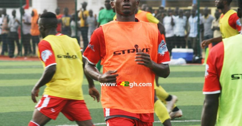 Empem Dacosta to join Ashantigold after terminating Kotoko contract