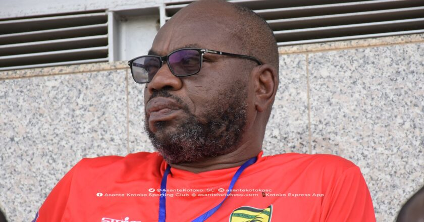 George Amoako rules out Kotoko return