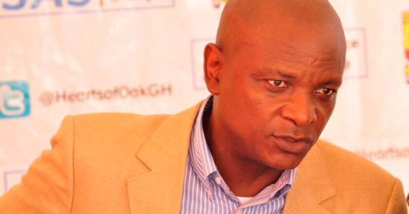 Togbe Afede promises to pay Hearts players better