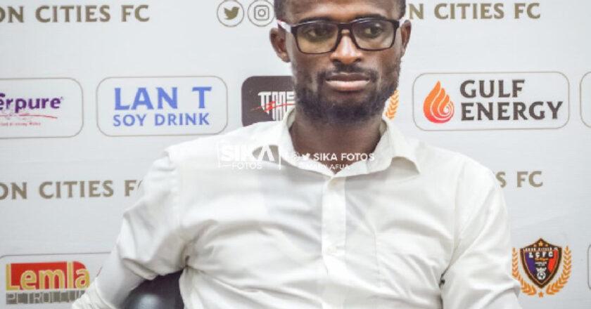 Kotoko won't beat me for the third time - Eleven Wonders coach Ignatius Osei-Fosu