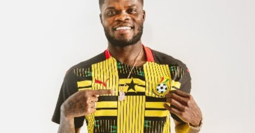 Thomas Partey and two others join the Black Stars camp
