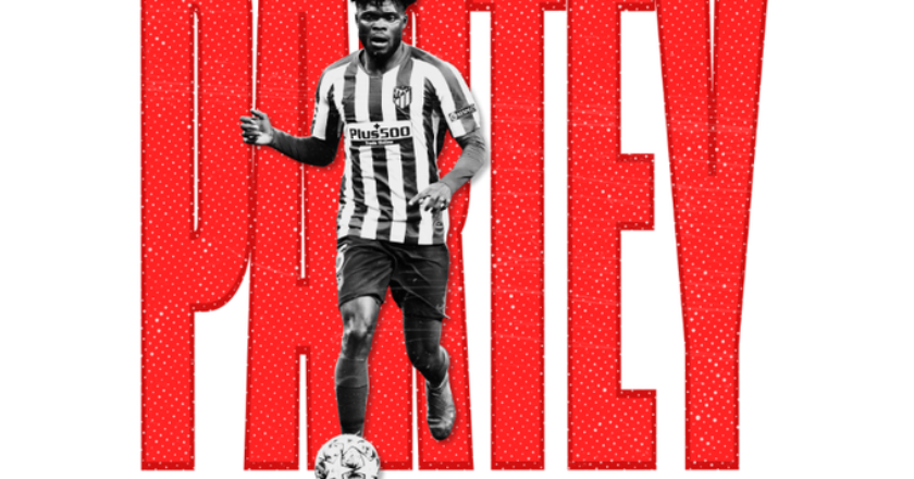 OFFICIAL: Arsenal announce the signing of Thomas Partey
