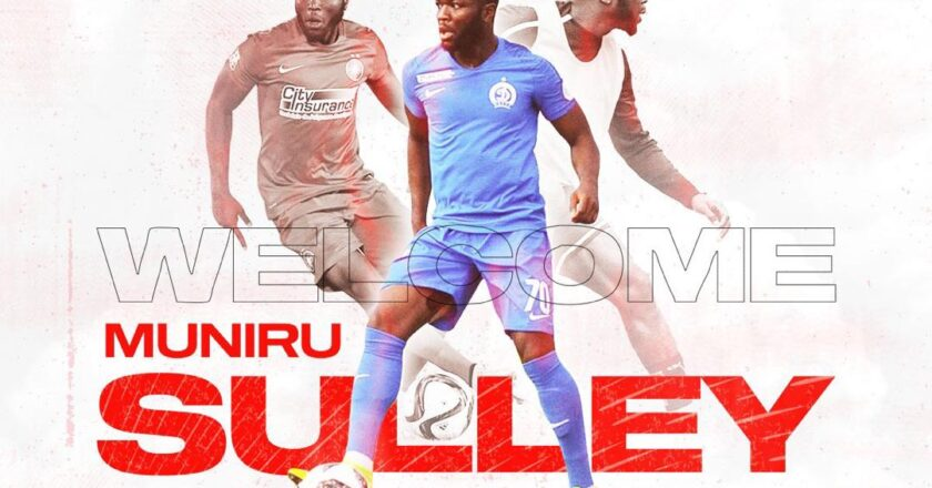 OFFICIAL: Asante Kotoko complete the signing of Sulley Muniru