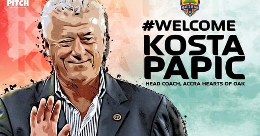 OFFICIAL: Hearts of Oak appoint Kosta Papic as new Head coach