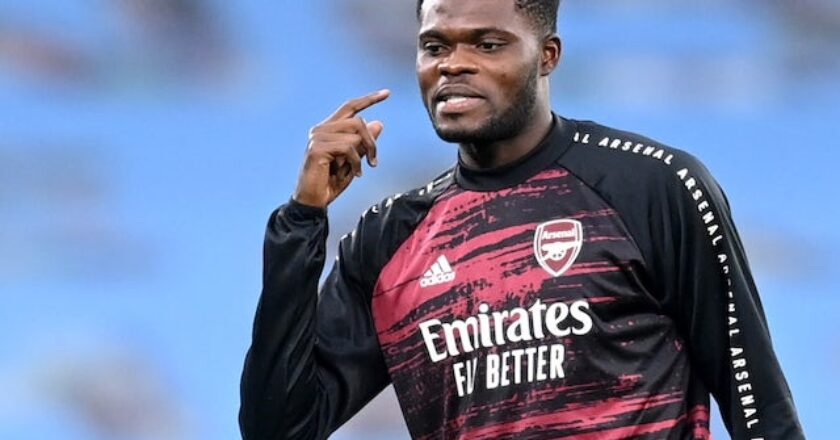 Thomas Partey ruled out of North London derby
