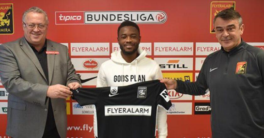 Ghanaian player David Atanga secures FC Flyeralarm Admira deal
