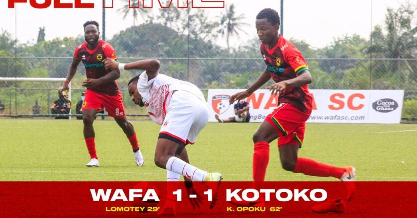 Watch Highlights : WAFA SC 1-1 Asante Kotoko | Ghana Premier League
