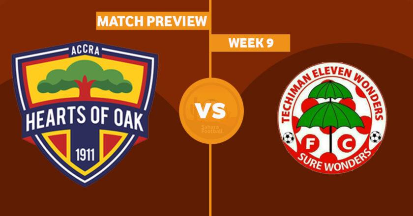 GPL Match Preview: Hearts of Oak vs Eleven Wonders