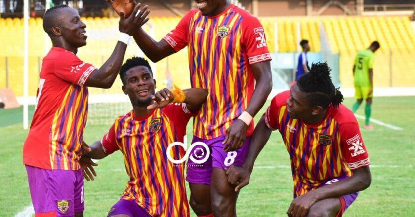 Hearts 6-1 Bechem: Phobians thump 10-man Bechem United