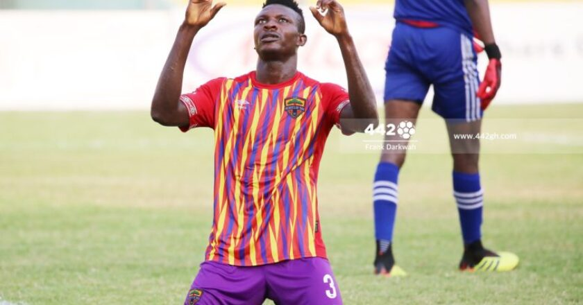 Victor Aidoo wants to win League with Hearts of Oak
