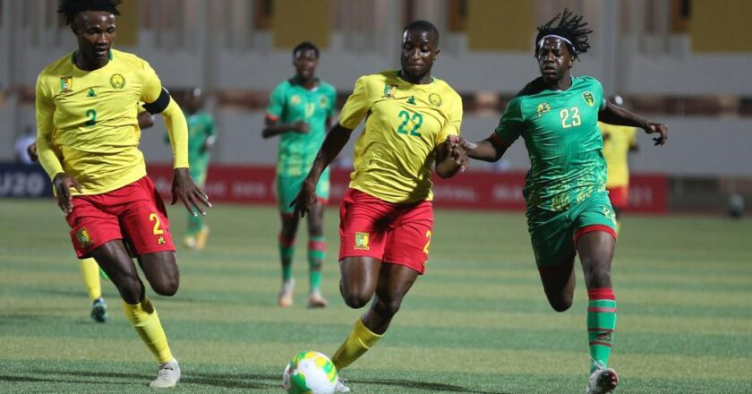 Watch Highlights: Mauritania 0-1 Cameroon | U20 AFCON