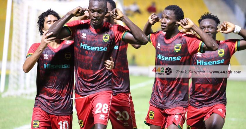 Asante Kotoko 18-man squad for Legon Cities clash