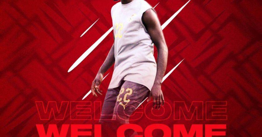 Asante Kotoko announce signing of Andy Kumi Francis