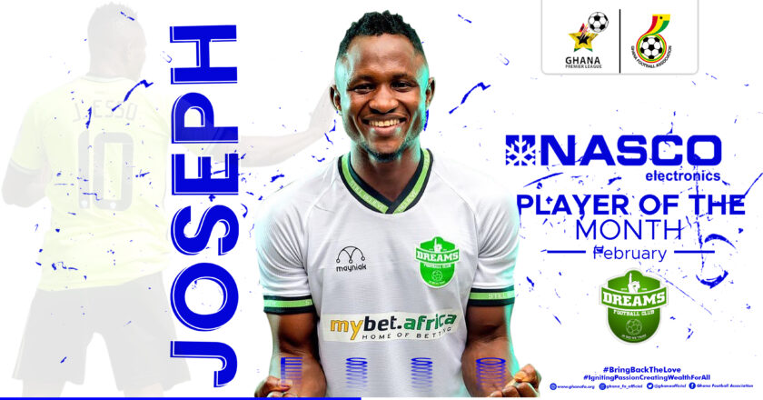 Esso wins NASCO Player of the Month for February