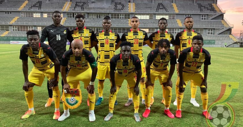 Ghana Black Stars squad for friendlies against Morocco and Ivory Coast