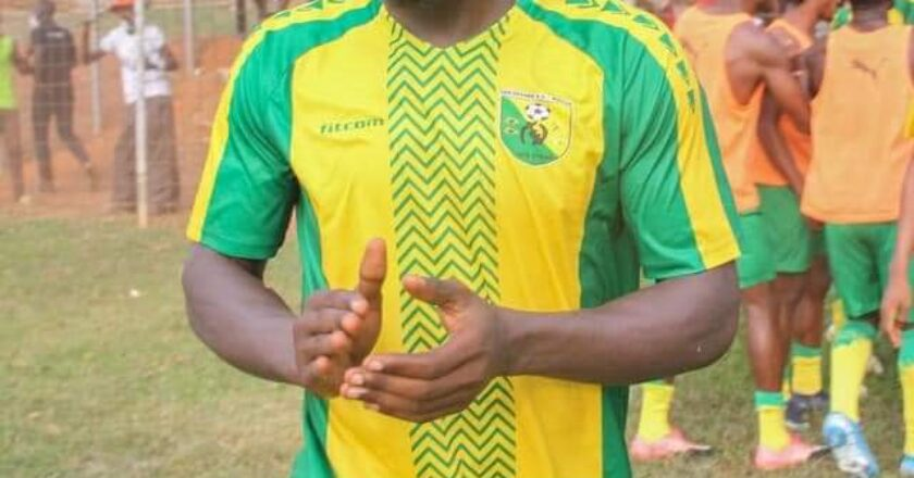 Kwabena Owusu brace send Bibiani Gold star atop of Division one Zone 2 league table