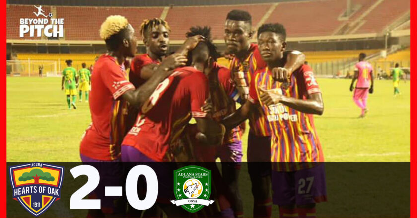 Watch Highlights: Hearts of oak beat Aduana Stars