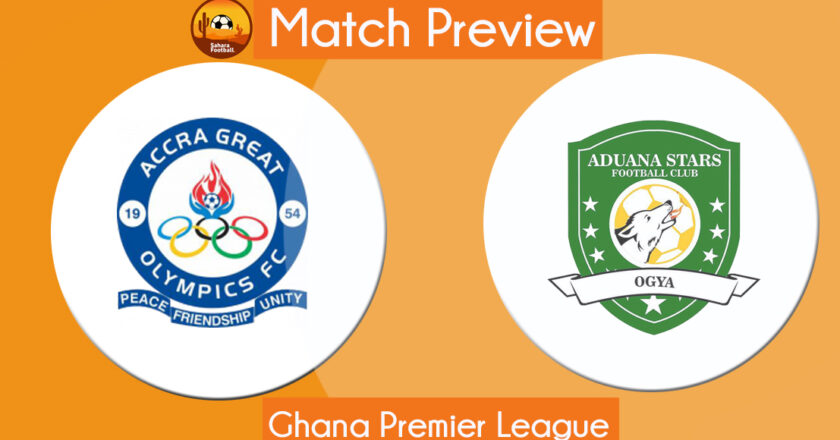 GPL Match Preview and Prediction: Great Olympics vs Aduana